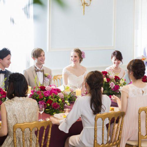 【平日休みの方も安心!】婚礼料理ご試食×大聖堂ウエディング体験フェア