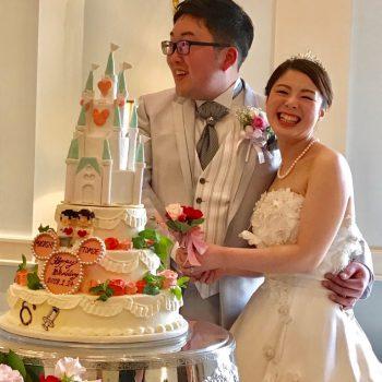 最高って言ってもらえる結婚式になりました